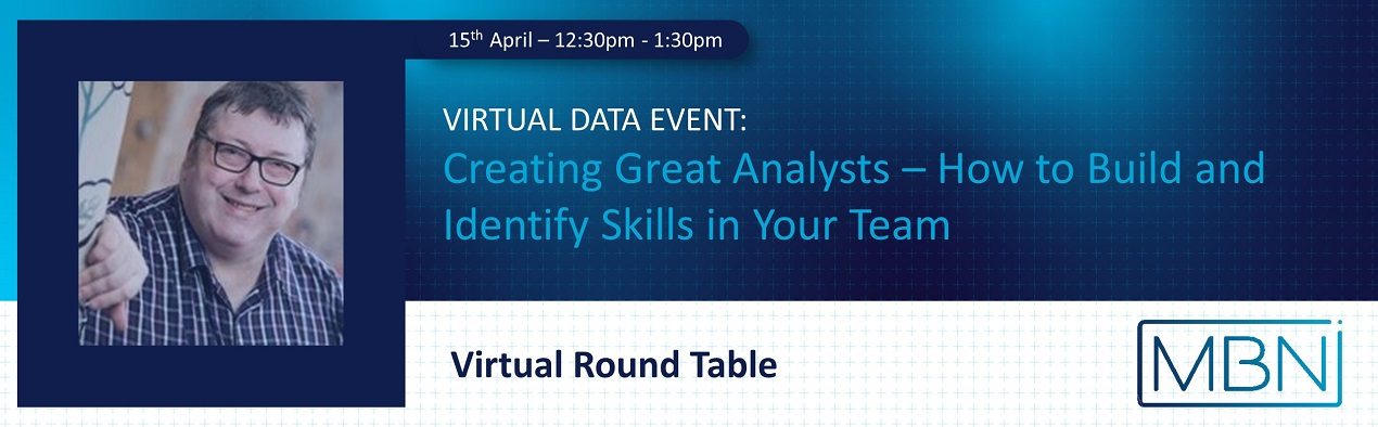 Martin Squires - Creating Great Analysts - Data Event